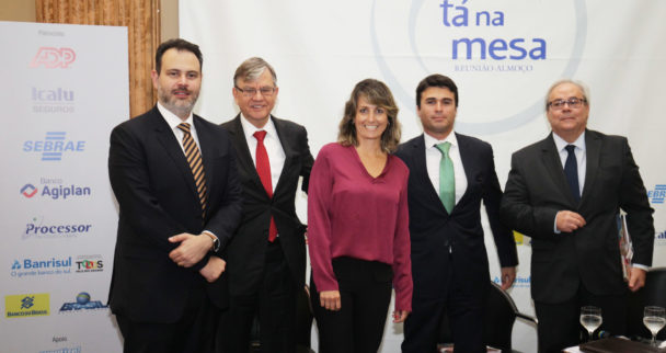 Nelson Mannrich, Flávio Sirangelo, Ricardo Gomes,