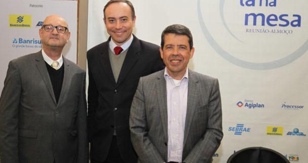Painel: Gestão de Recursos Humanos para a Produtividade nos Negócios EMPRESARIAIS  DO RS. Palestrantes: Cesar Marinho, Presidente da ADP. Orian Kubaski, Presidente da ABRH – RS.