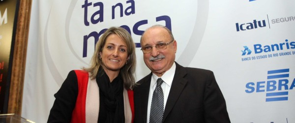 Wantuir Jacini e Simone Leite