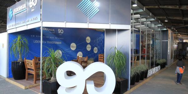 01/09/2017 - Esteio, RS - Stand da federasul.  FEDERASUL - (Federação de Entidades Empresariais do RS) . Foto: Itamar Aguiar/Agência Freelancer.