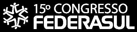 logotipo 15 congresso federasul