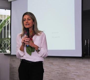 """""""Com uma participação dos empresários vamos  construir uma nova sociedade"""", disse Simone - Foto: Guilherme Sampaio"""